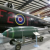 20 Bomber Command Museum, Nanton.  Lancaster FM-159.  Tallboy boy (12000 lb)