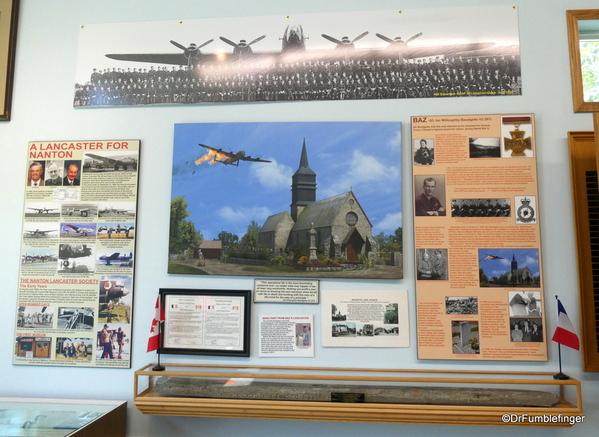 23 Bomber Command Museum, Nanton. Lancaster FM-159.