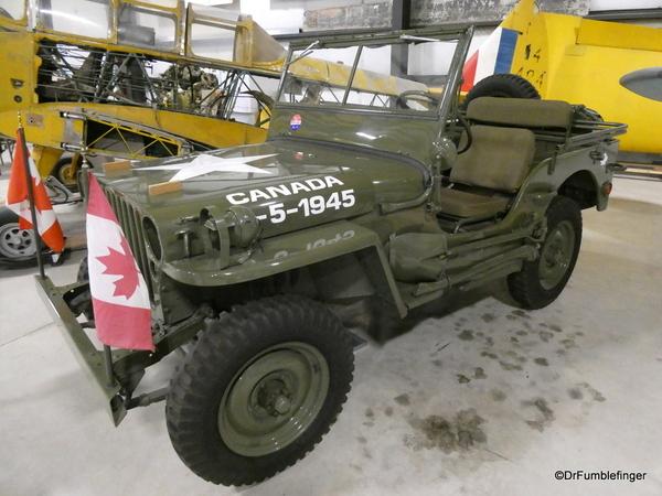 40 Bomber Command Museum, Nanton. 1944 Jeep