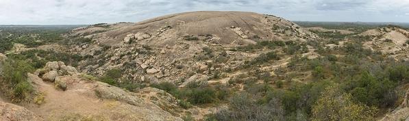 1280px-Enchanted_Rock_Panorama_2012. Courtesy Jujutacular and Wikipedia