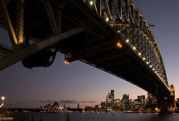 1A_Sydney Harbour Bridge_dusk