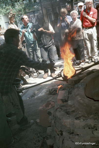 Spare Nepal 04-2002 (12) Kathmandu Lost Wax technique