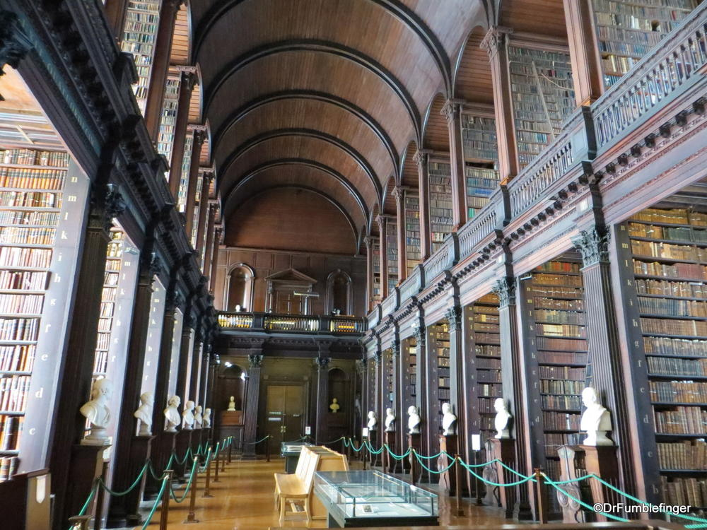 """Long Room"", Trinity College Library, Dublin, Ireland"
