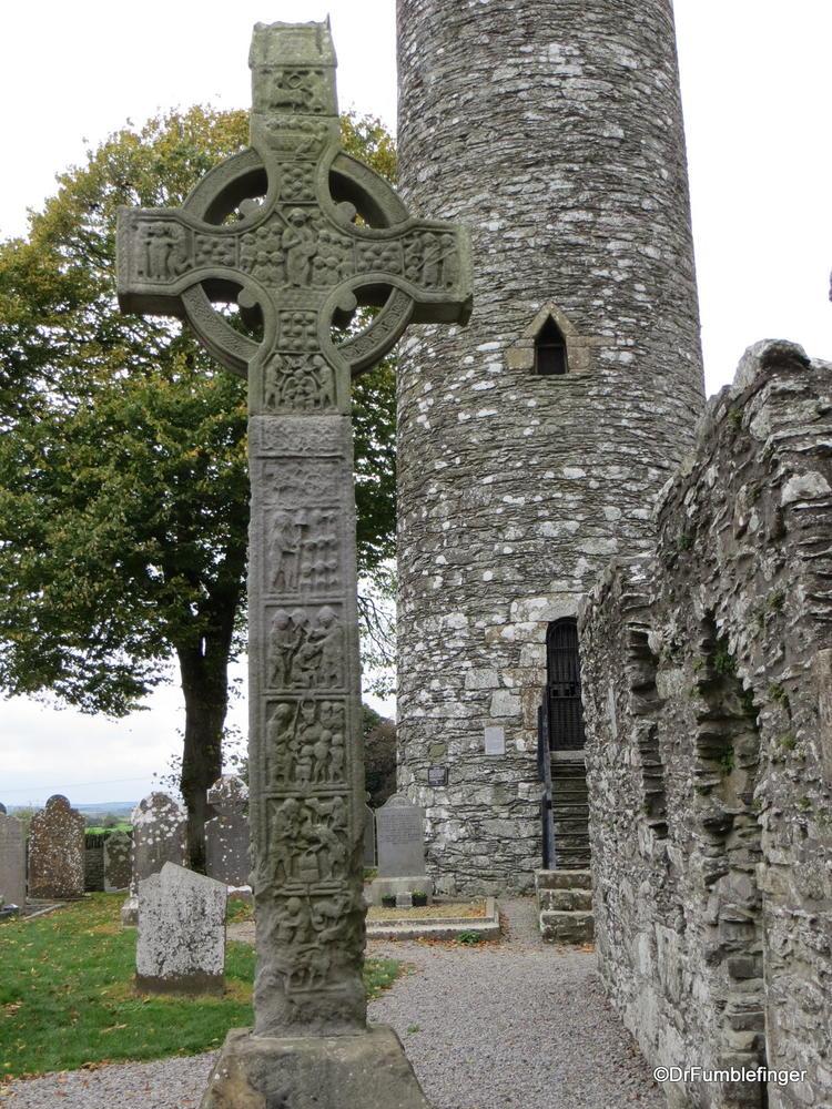 High Celtic Cross and Tower, Monasterboice, Ireland