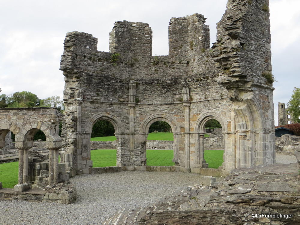Ruins of the Lavabado, Old Mellifont Abbey, Valley of the Boyne, Ireland