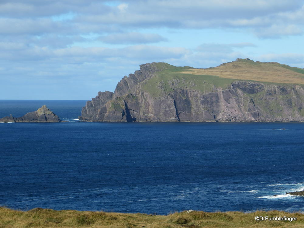 Views of the rugged Dingle Peninsula coast-line, Ireland