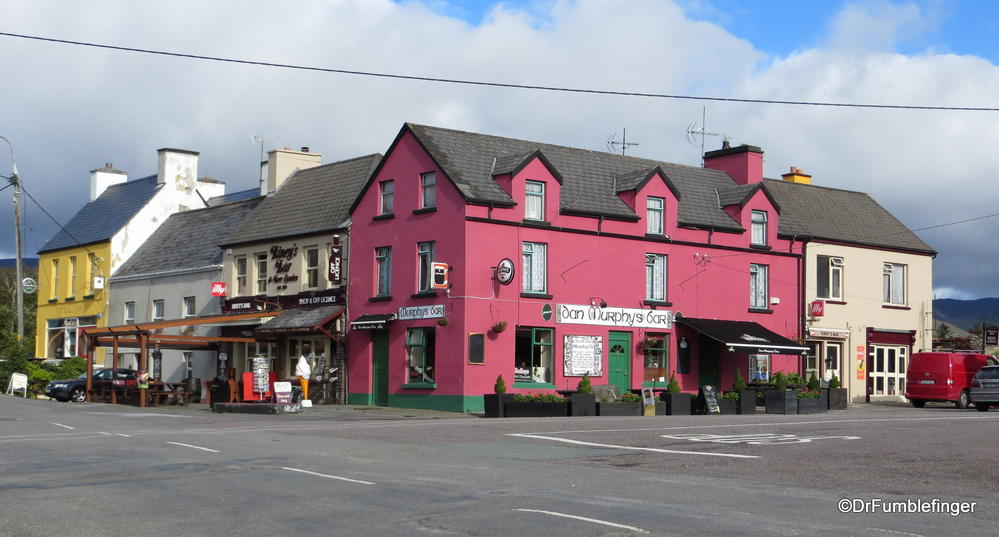 The colorful town of Kenmare, Ireland
