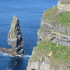 Branaunmore Rock just off O'Brien's Tower on the Cliffs of Moher, Ireland