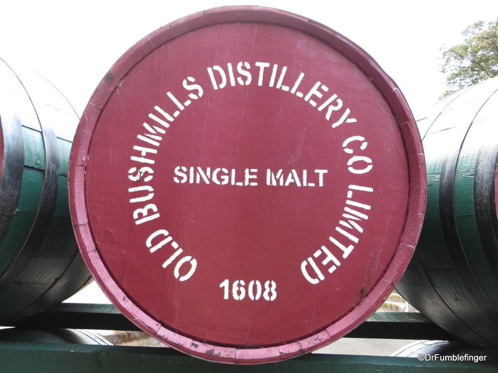 Old Bushmill's Distillery, Antrim Coast, Northern Ireland