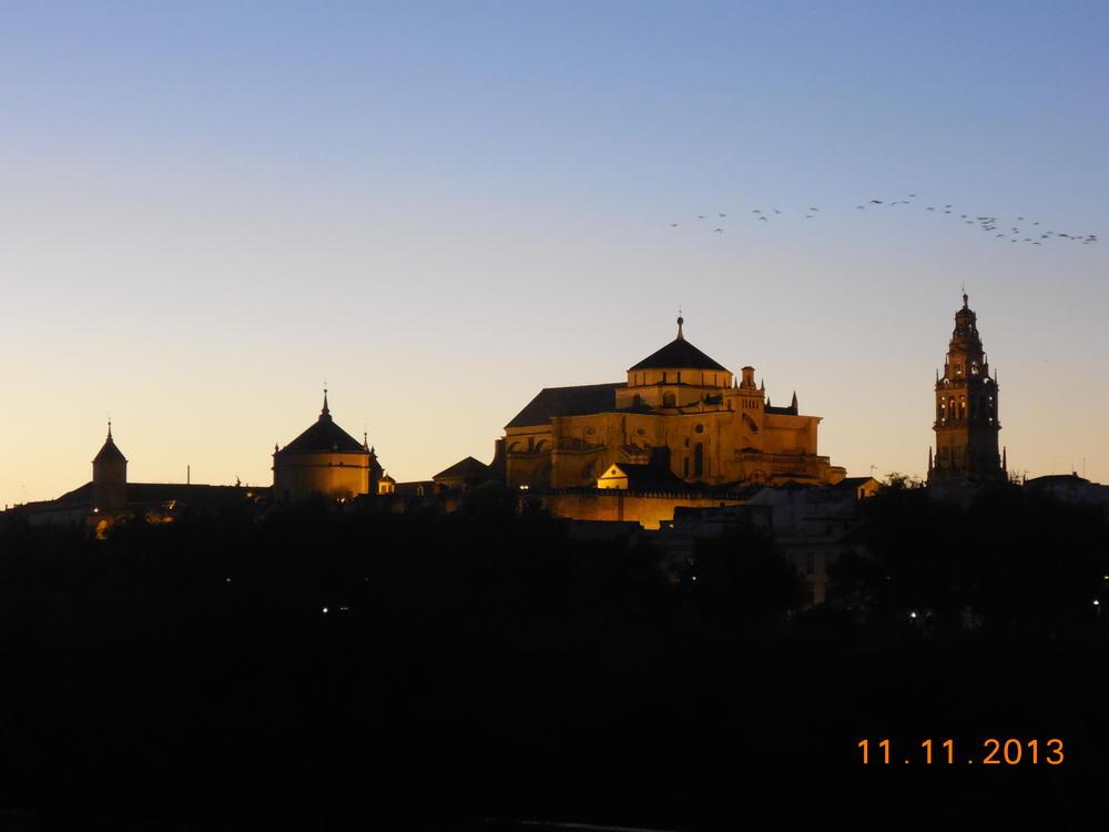 Mezquita, Cordoba at sunset