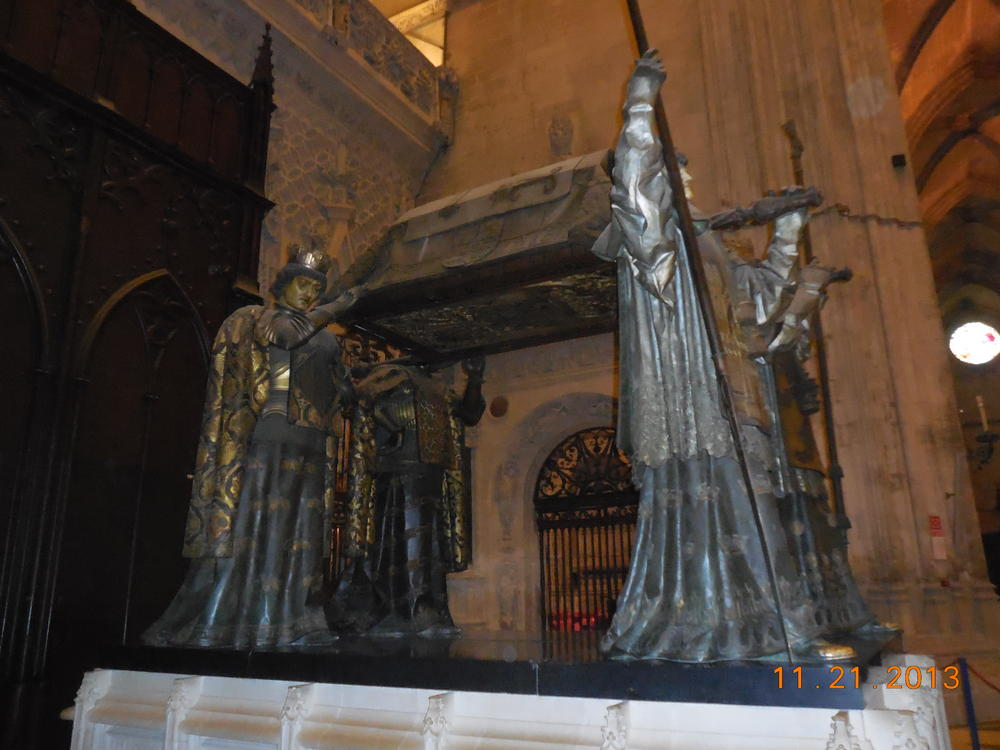 Tomb of Columbus, Seville Cathedral