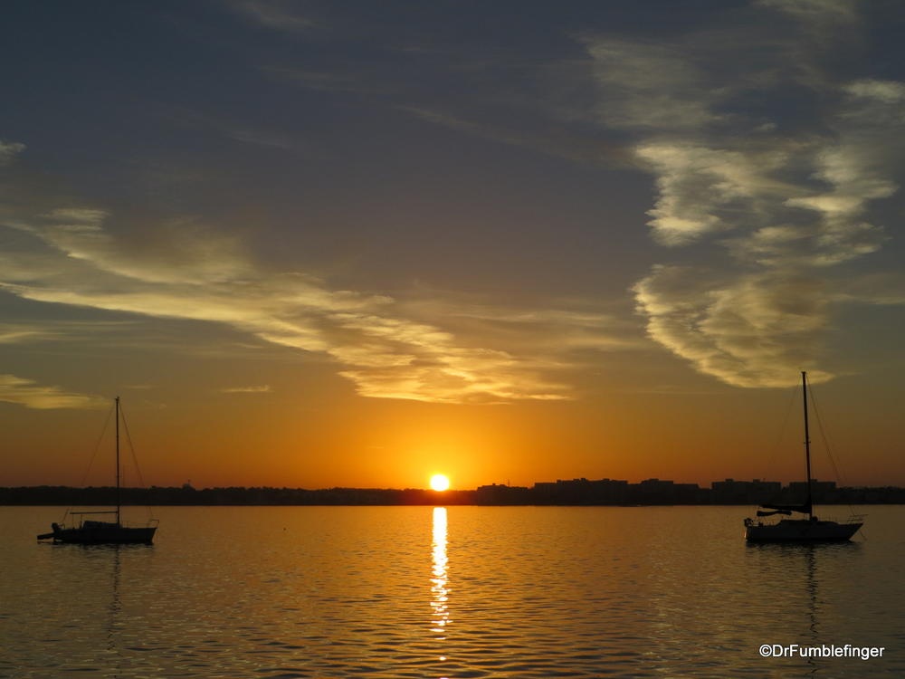 Sunrise over Tampa Bay, Florida #2