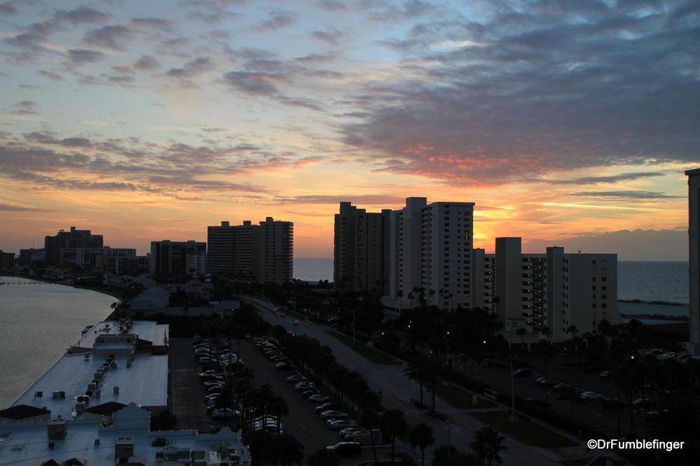 Sunset over Sand Key, Florida