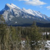 Mt. Rundle and the Bow River Valley, Banff National Park