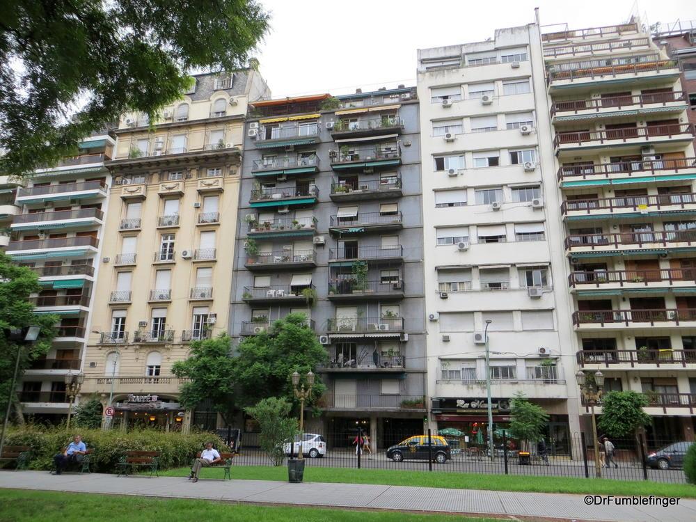 Buenos Aires, Recoleta.  Street scene