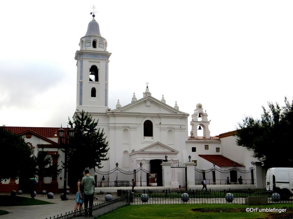 Buenos Aires, Recoleta Basilica Nuestra Senora del Pilar