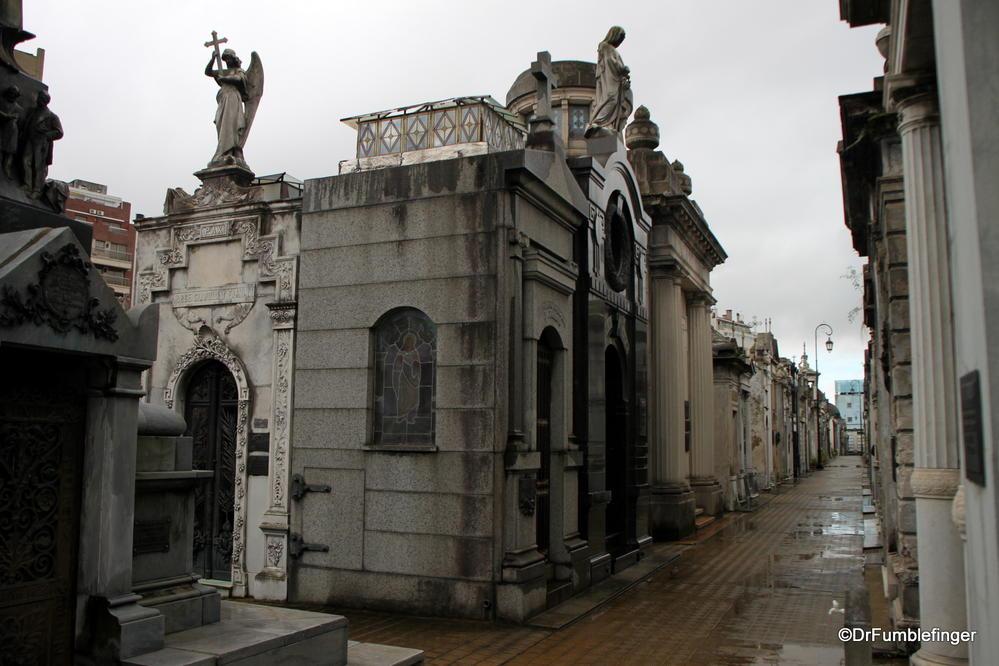 Recoleta Cemetery, Buenos Aires.