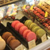 Macaroons in a Paris bakery