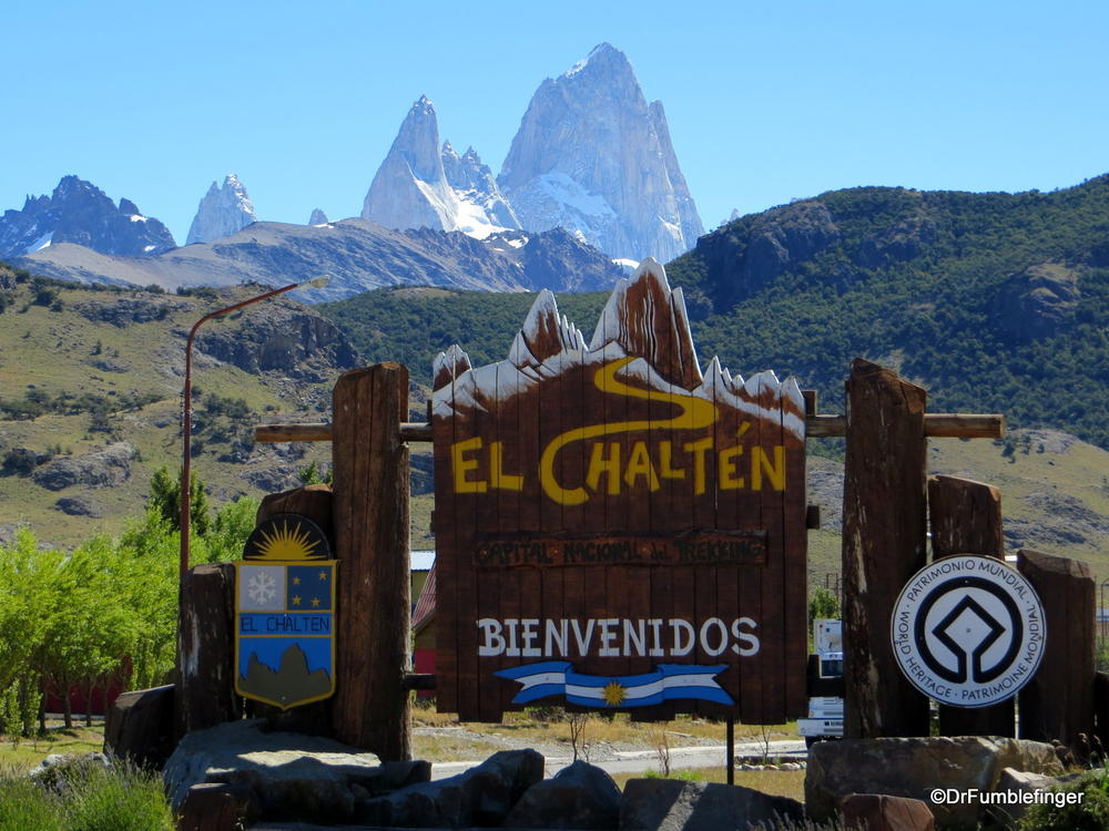 El Chalten, the epicenter of hiking in Patagonia, for obvious reasons