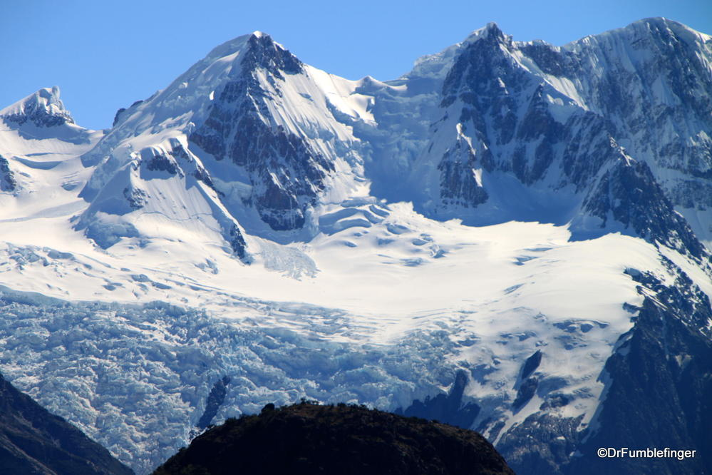Patagonia Ice Pack near El Chatlen.  One of the world's largest glaciated regions.