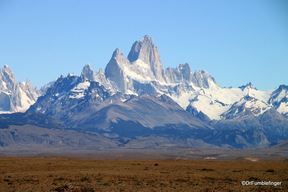 Fitzroy Massif, El Chalten, Argentina.  One of the most dramatic granite peaks in the world