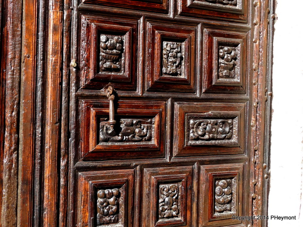 Detail, cathedral doors, Sevile