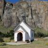 Small chapel, El Chalten, Argentina