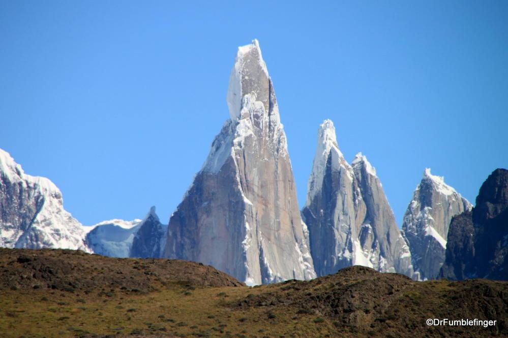 The unique peak of Cerro Torre, Argentina