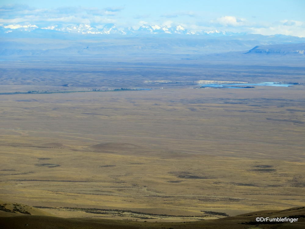 The Patagonia Steppe, Argentina.  A vaste (almost empty) desert