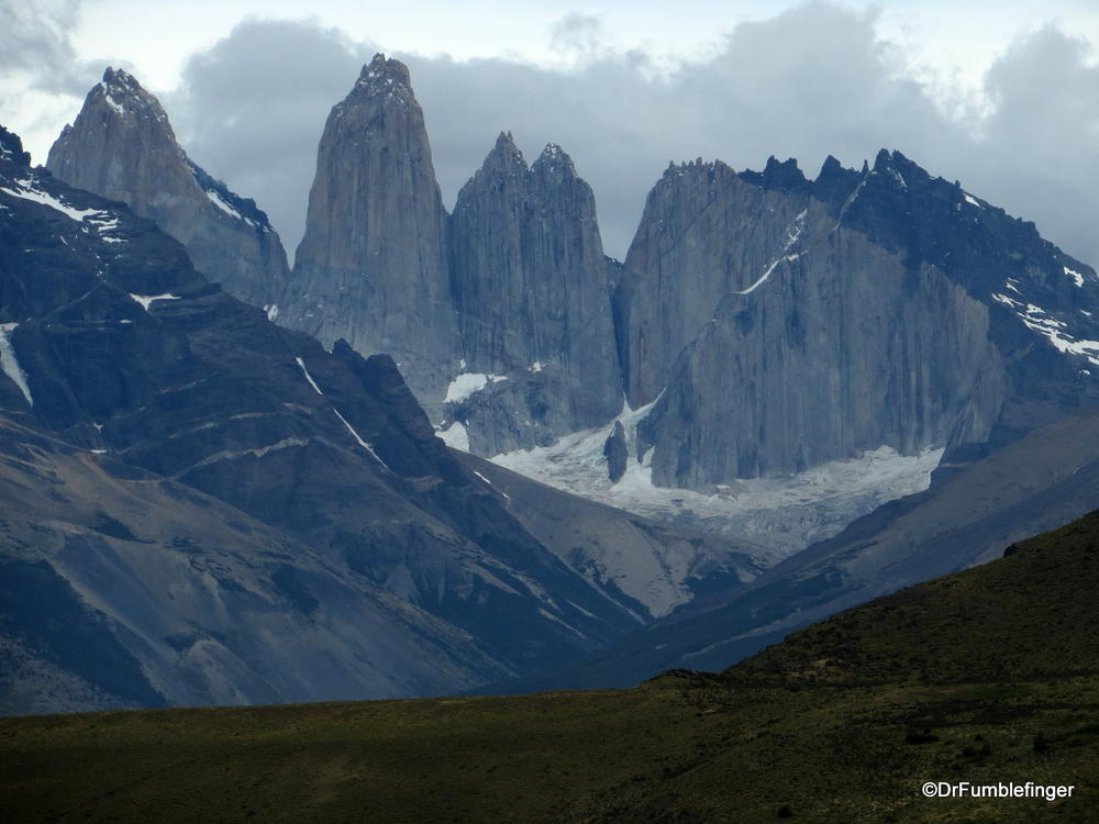 The famous towers of Torres Del Paine National Park, Chile
