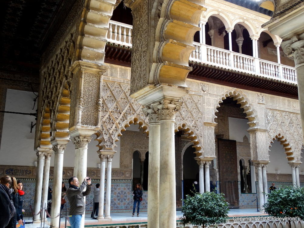 Courtyard of the Maidens, Real Alcazar, Seville