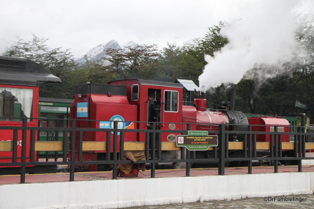 El Tren del Fin del Mundo.  Train ride in Tierra Del Fuega National Park