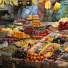 San Telmo market, Argentina.  Wonderful assortment of fresh fruit