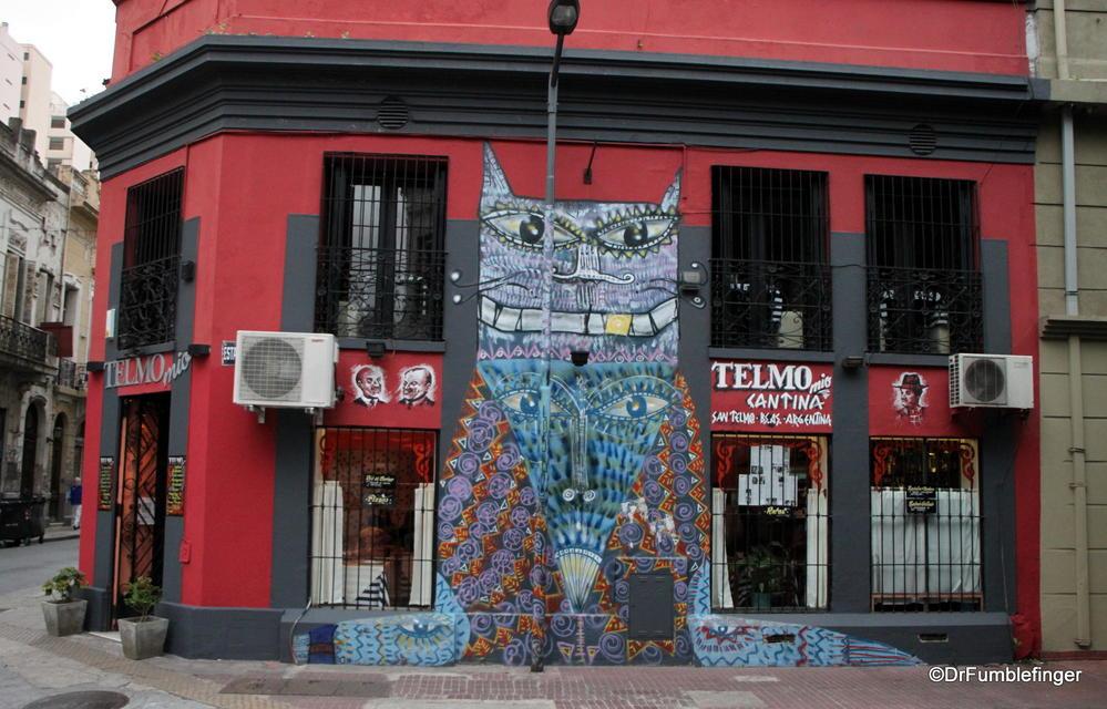 San Telmo, Argentina.  Street art