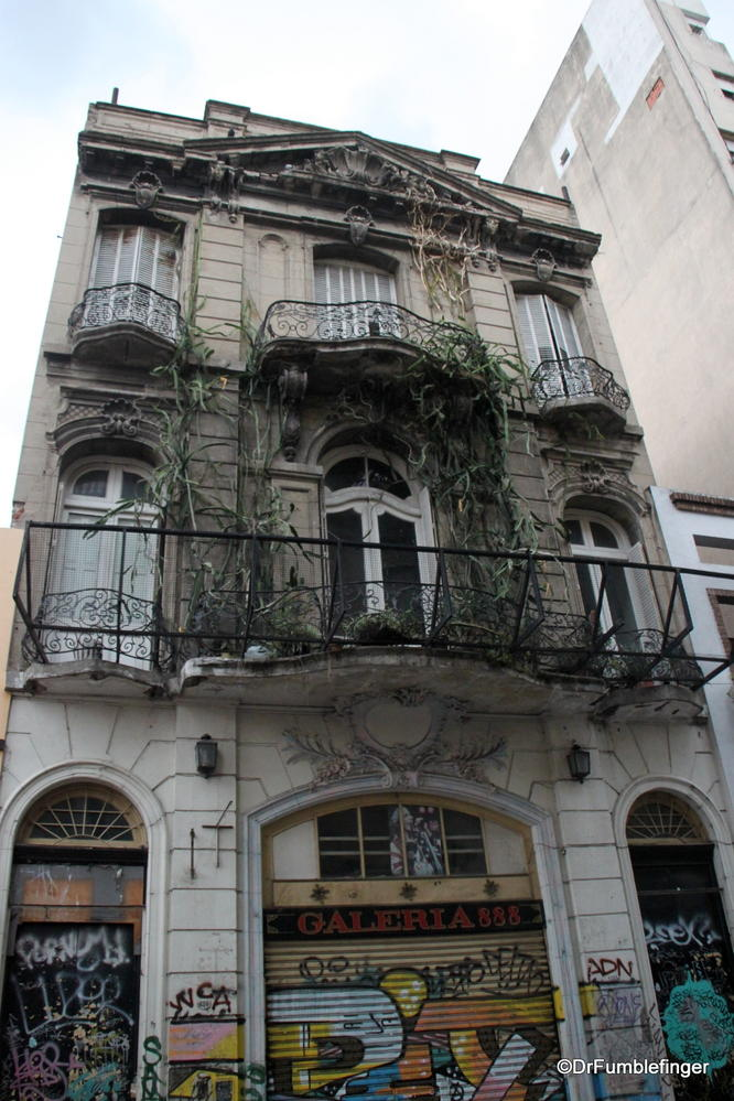 "San Telmo, Argentina.  A little over a hundred years ago, the hot spot in Buenos Aires.  Now it's known for it's ""decaying elegance""."