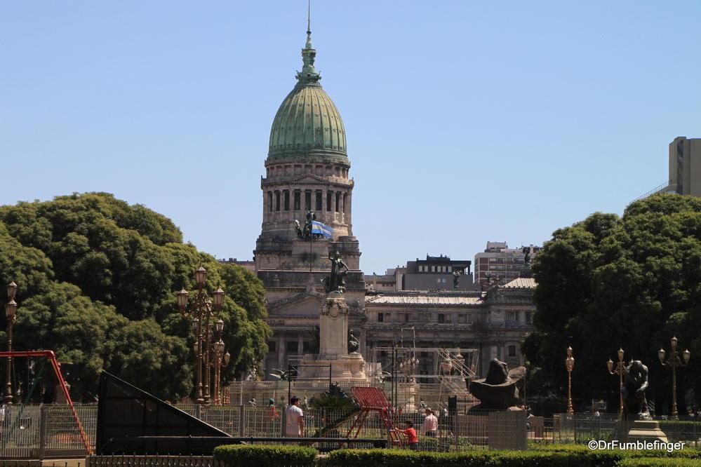 Palacio del Congreso.  The home to the legislative branch of the Argentine government