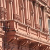 Casa Rosada, Buenos Aires.  The Argentine presidential palace balcony from which Evita (Eva Peron) addressed her adoring masses