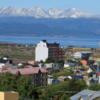 A rare sunny day in Ushuaia, Argentina