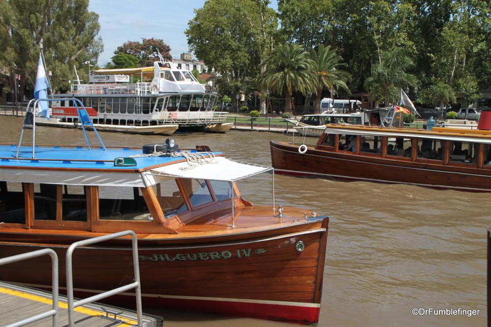 El Tigre, Argentina.  Situated in the Parana Delta