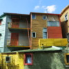 La Boca.  A rough-edged blue collar part of Buenos Aires but with very colorful homes