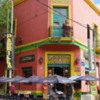 One of La Boca's famous cafes.  Very historic.  Very inviting