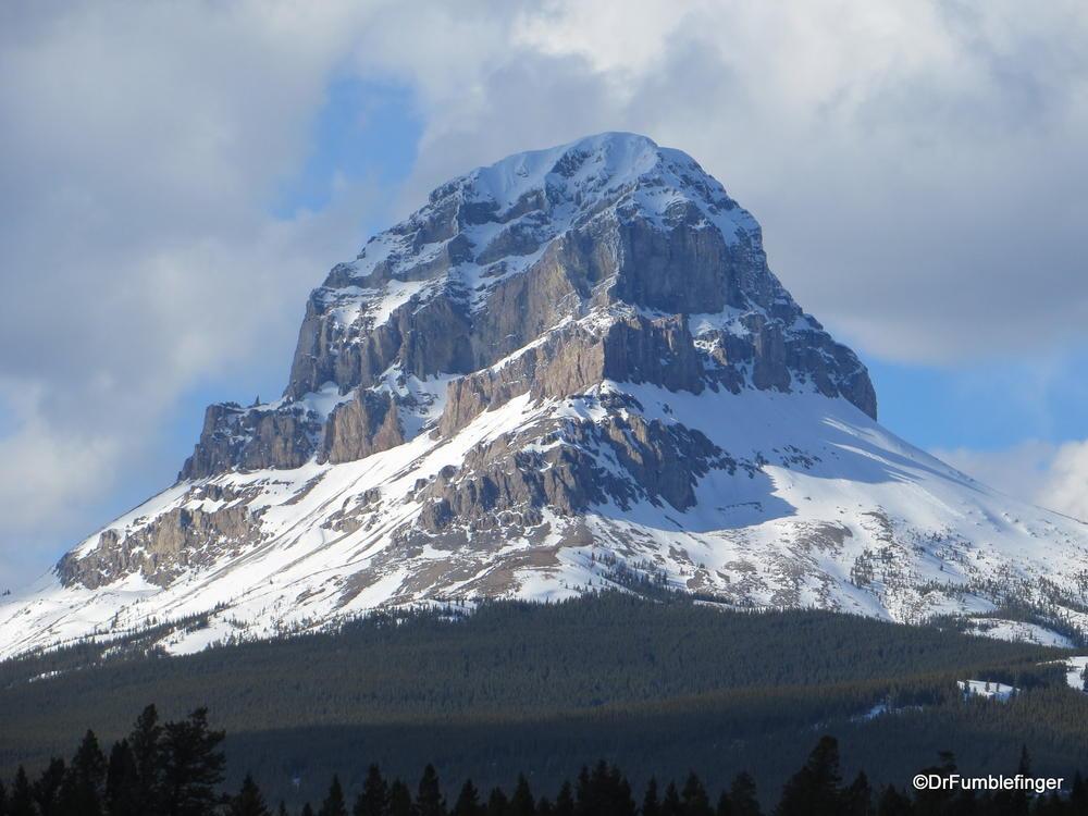 Magnificient Crowsnest Mountain, Canadian Rockies, Alberta