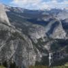 Half Dome, Vernal Falls and Nevada Falls, Yosemite National Park