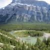 Hoodoos, Bow River Valley, near Banff