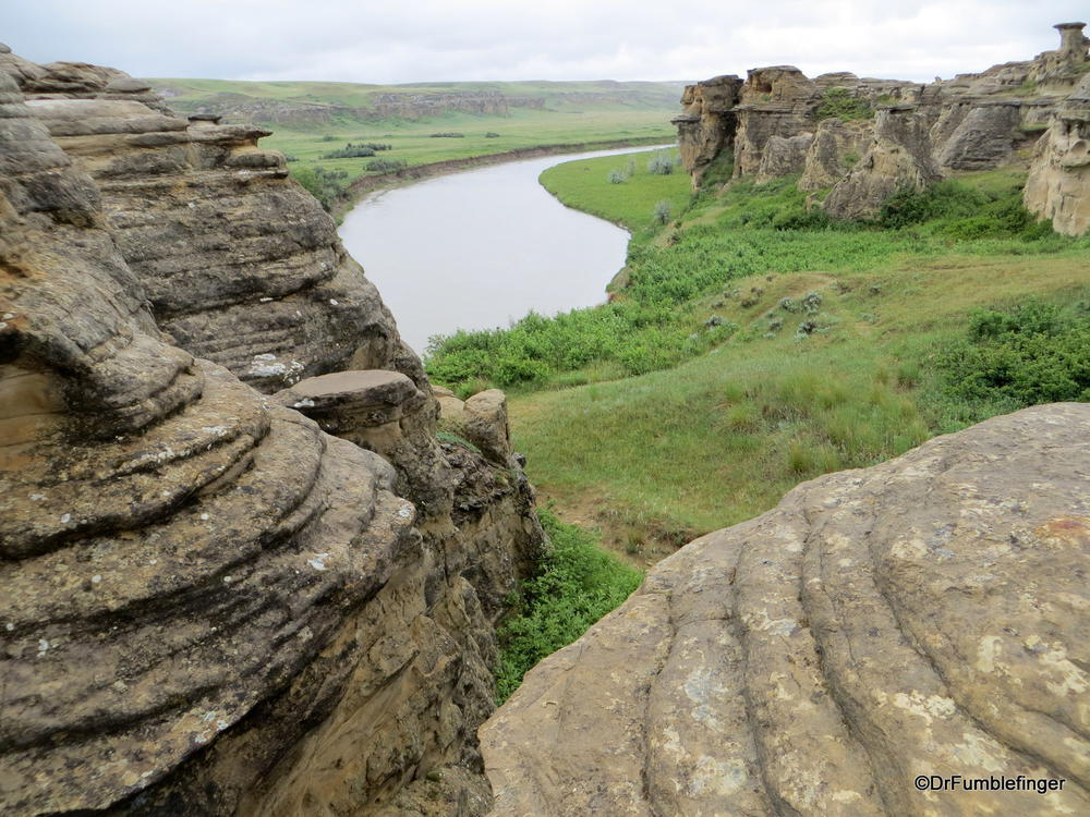 Milk River Valley, Writing on Stone Provincial Park, Alberta