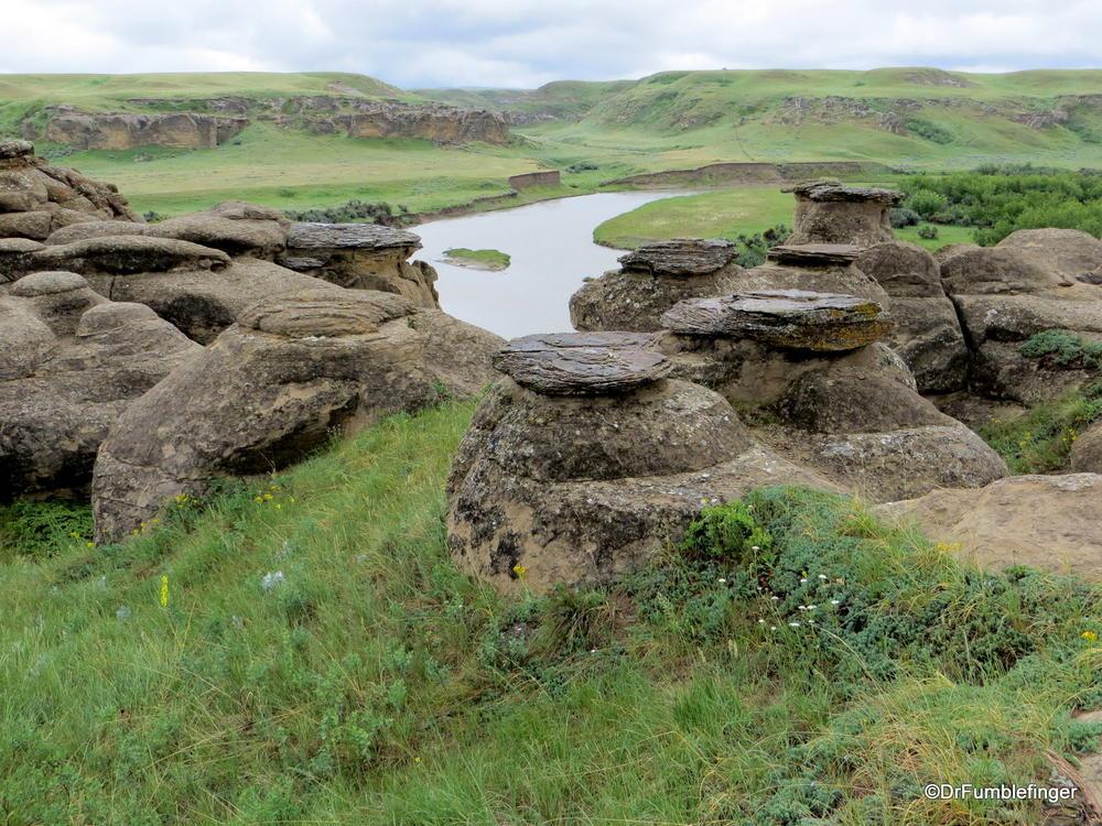 Milk River Valley, Writing on Stone Provincial Park, Alberta