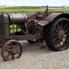 Old tractor, Warner, Alberta