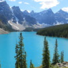 Beautiful Moraine Lake, Banff National Park