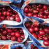 Fresh Bing Cherries are in season!  Toronto corner market