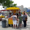 Toronto Street Food.  George's Hot Dog stand.